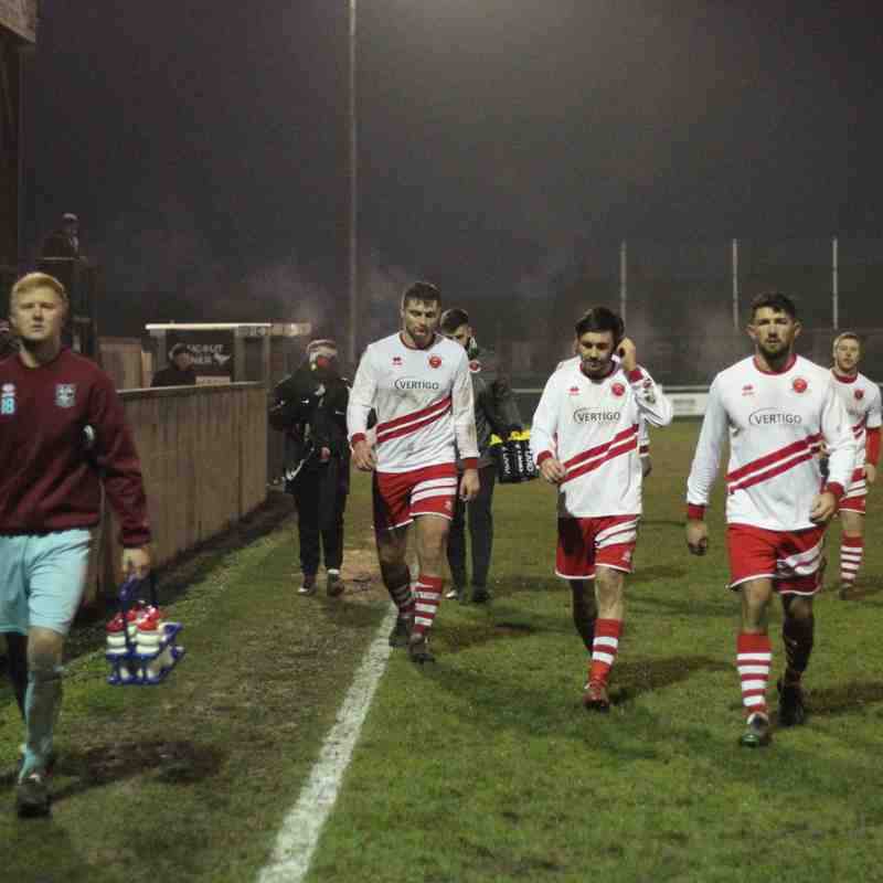 AFC Emley 3-0 Skegness Town