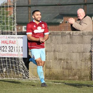 Danny at the double for Emley