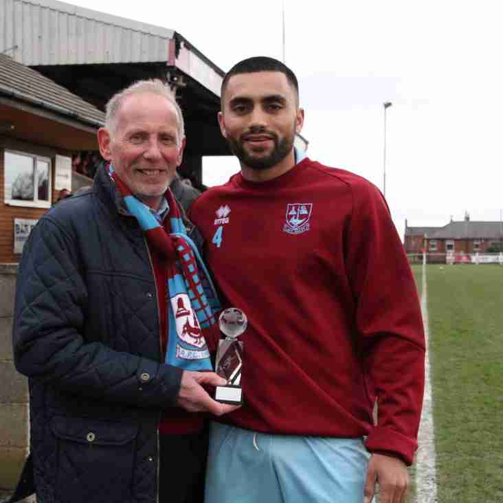 February Player of the Month:  Daniel Naidole