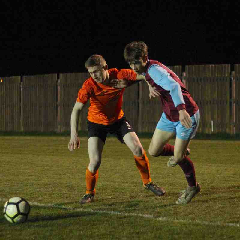 AFC Emley U19 0-1 West End U19