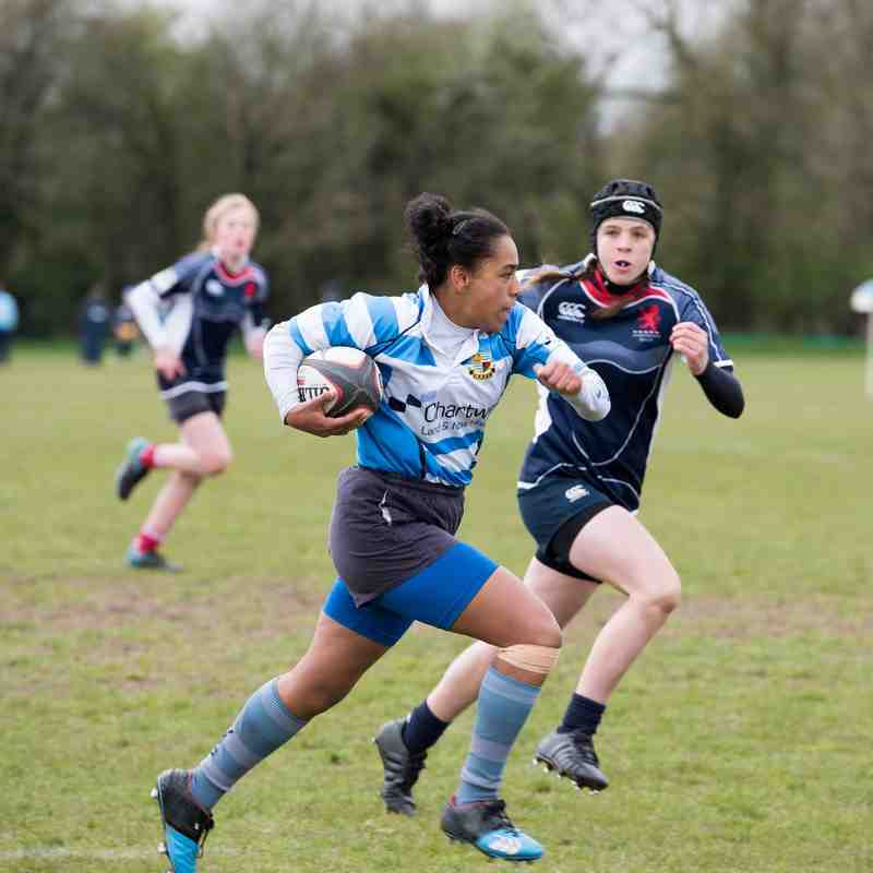 Warlingham Girls Sevens Heaven 2016