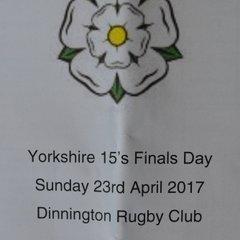 u15s Yorkshire Cup Winners 23.4.2017