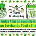 St Patrick's Night at EALTS
