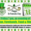 St Patrick's Night Event