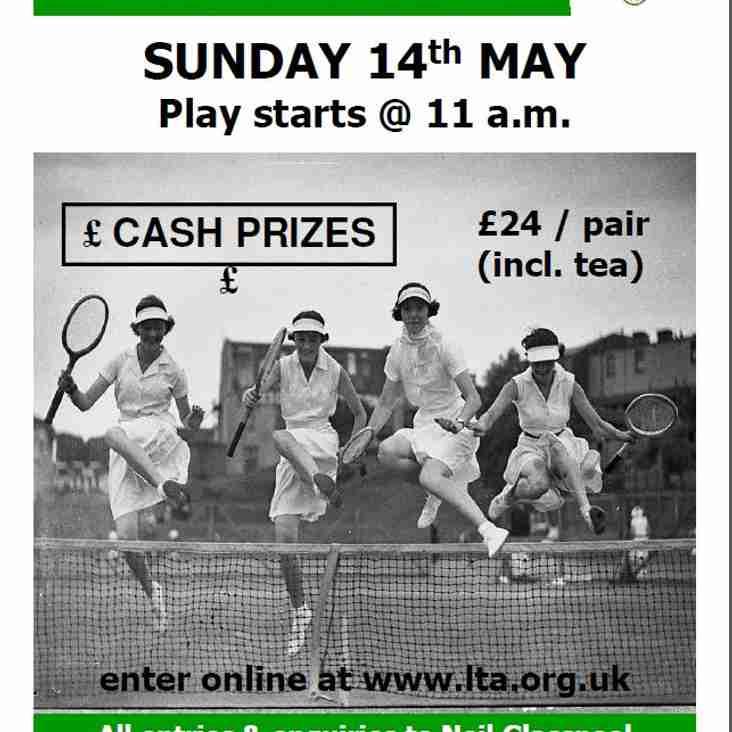 Ladies Open Doubles tournament