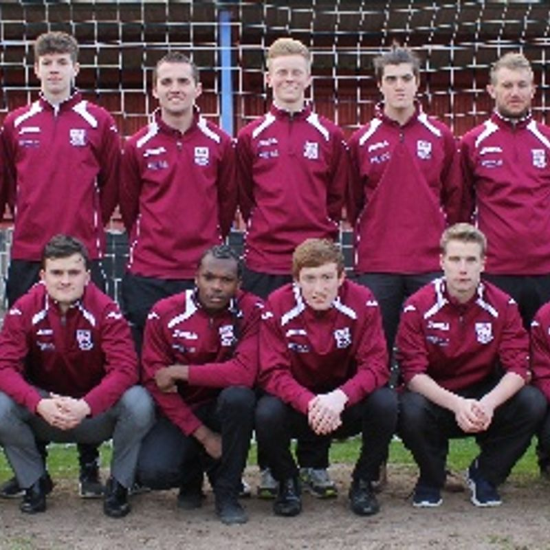 Under 19 lose to Huddersfield YMCA 1 - 2