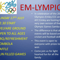 The Olympics return to Emley