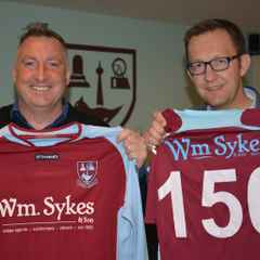 Wm Sykes celebrate 150th anniversary with new commitment to AFC Emley