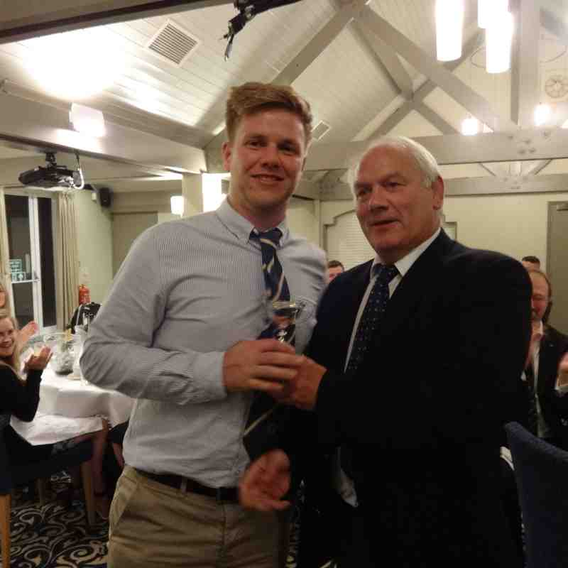 Billy Powell Saxons Player of the Year