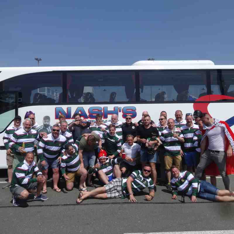 Tour  to Amiens and game v Arras rfc