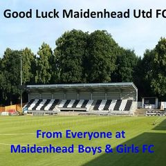 Good Luck Maidenhead Utd FC