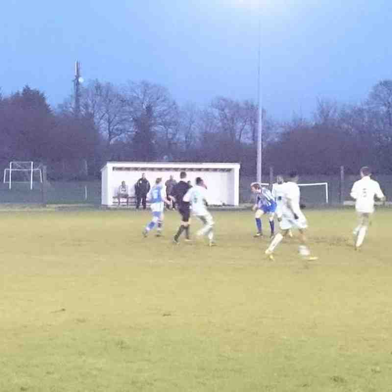 Hullbridge Sports 6 Enfield 1893 2 - ESL (16/01/2016)