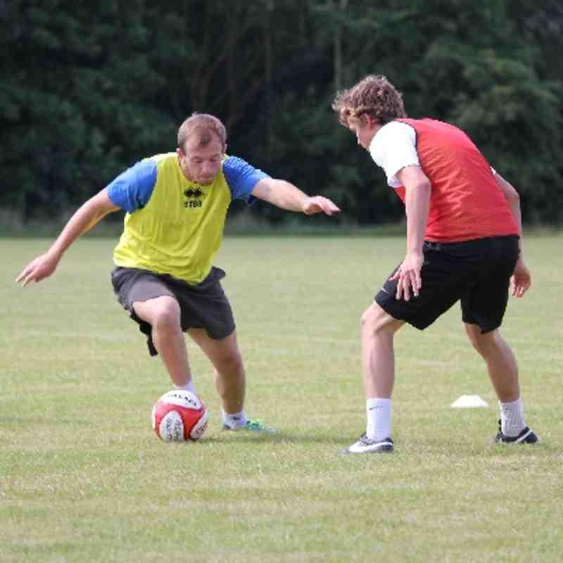 First Team Pre-Season Training @ Wright Robinson Sports College (05/07/14)