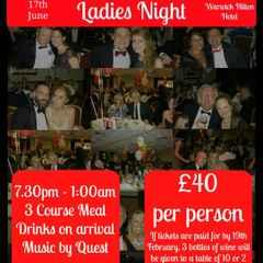 Ladies Night - 17th June