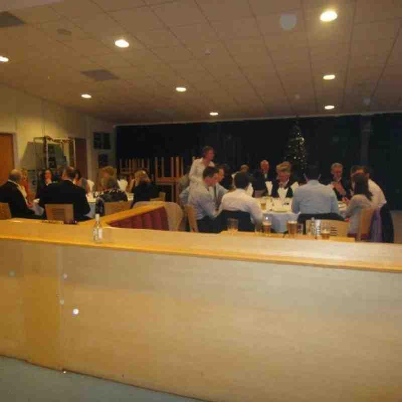 Club Christmas Dinner 2012