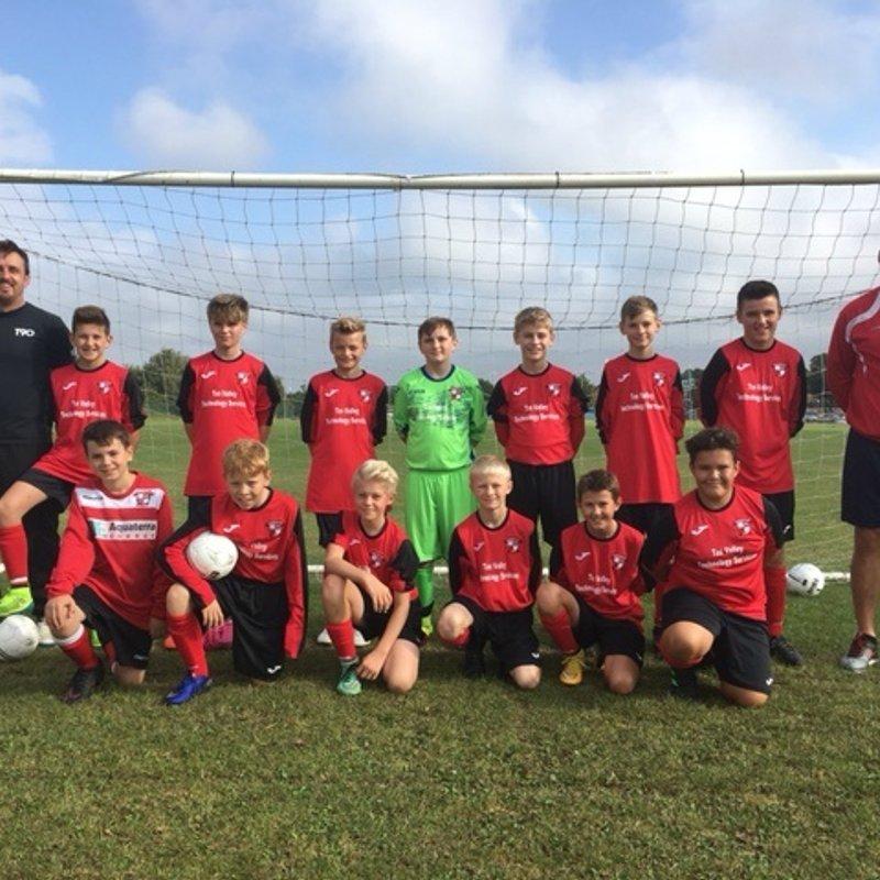 Under 13s lose to Waveney Jaguars U13 7 - 0