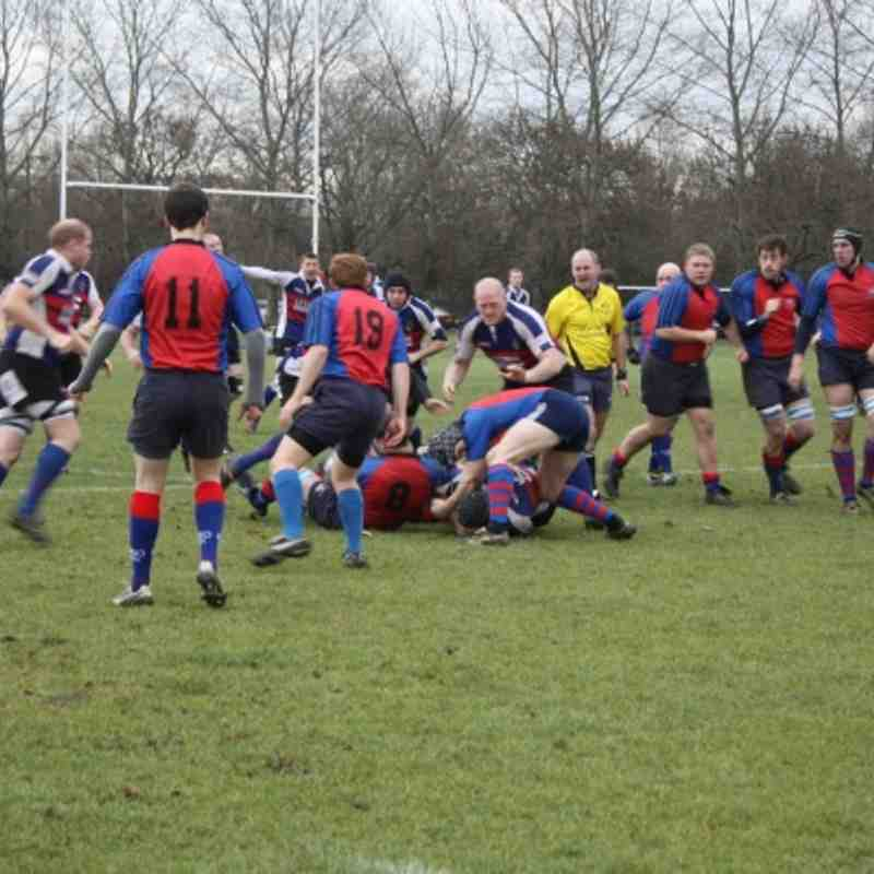 1sts v Canvey Island 2nds v Chiswick 08.01.2011