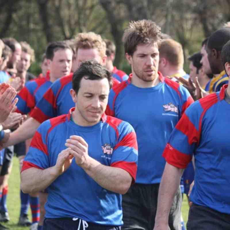 1st v Enfield Ignatians 14.03.2012