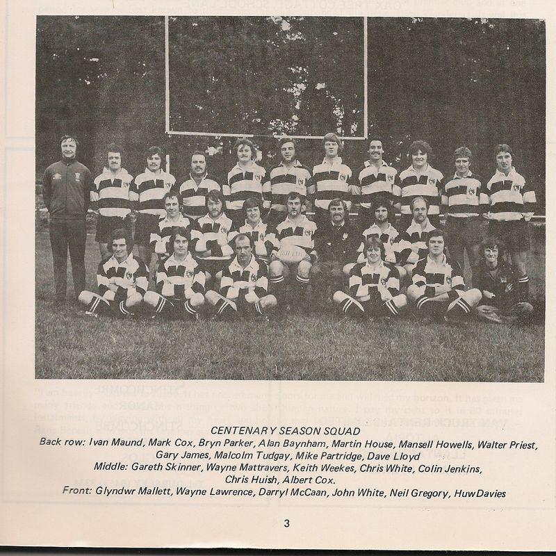 Blaenavon  Rugby Football Club celebrate 140 years of  existance