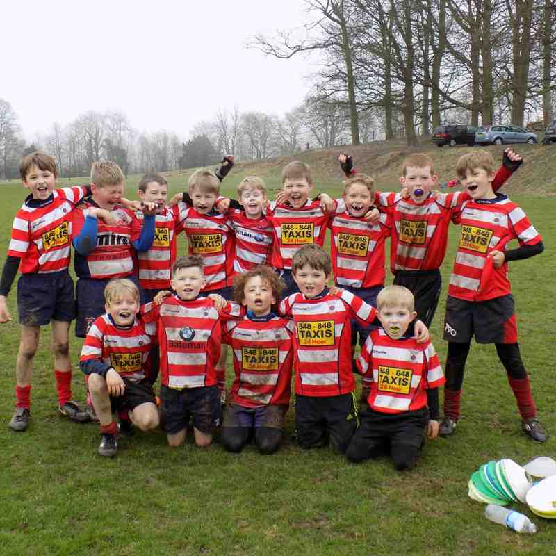 Warrington Tour to Kirkby Lonsdale vs Vale of Lune U'9s 5/4/2015