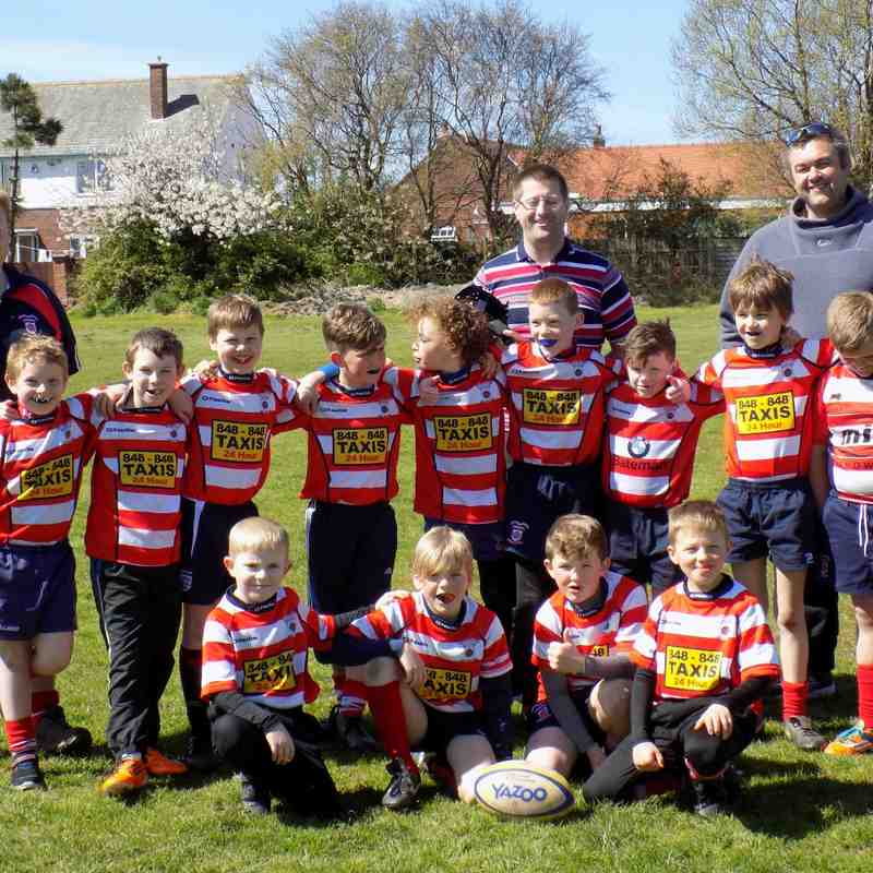 Fleetwood/Blackpool vs Vale of Lune U 9's - 26/4/2015