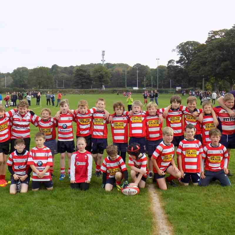 Vale of Lune U10's vs Kendal and Blackburn 11/10/15