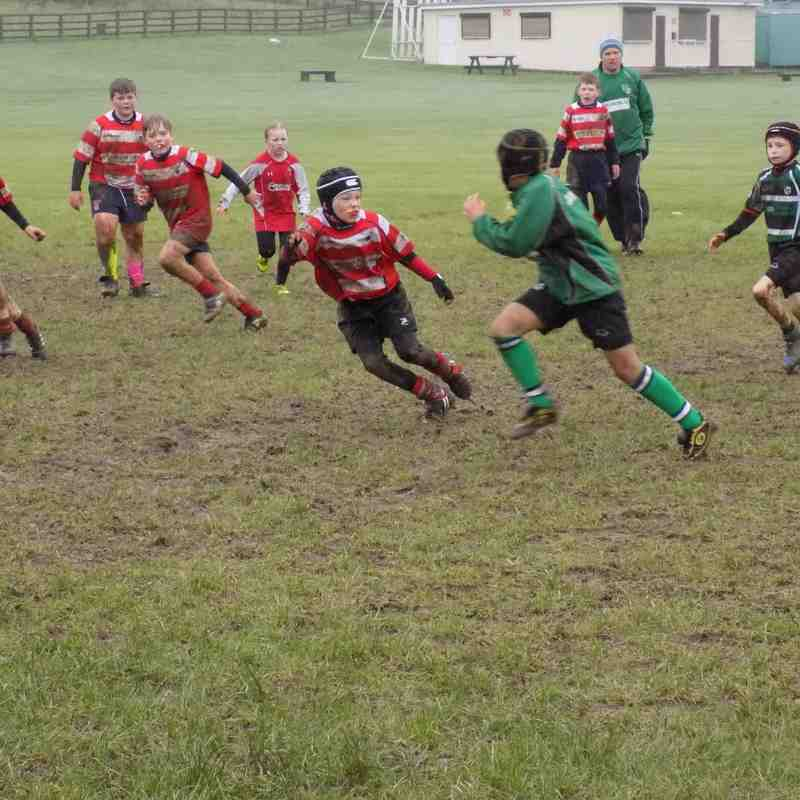 Vale of Lune U10's v Lymm 31/1/2016