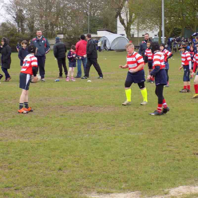 Preston Tournament v Vale of Lune U10's April 2016