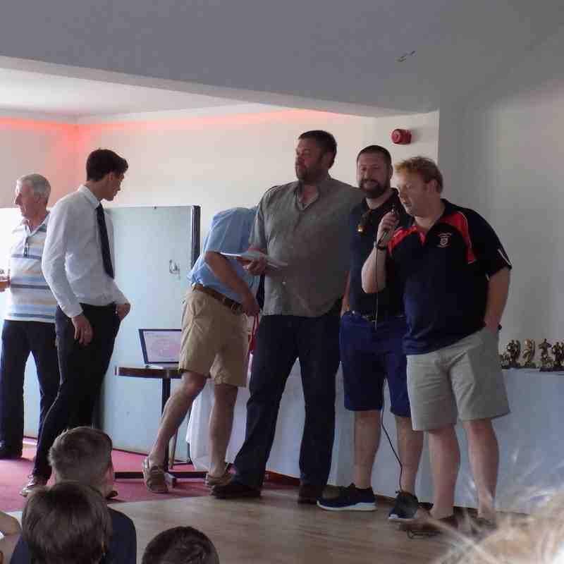 U10's Rugby Presentation 8/5/2016