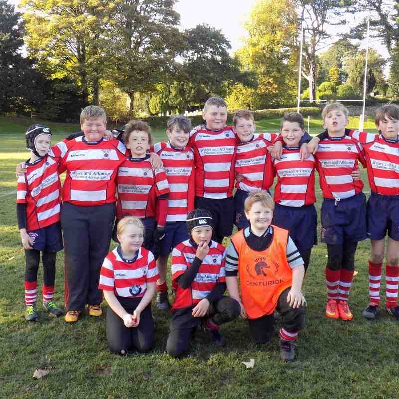 Sedbergh Tournament vs Vale of Lune U11's October 2016