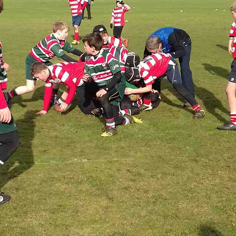 Waterloo v's Vale of Lune U'11s 5/2/17