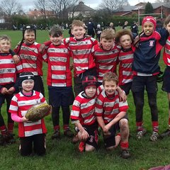 Ormskirk and Wigan vs Vale of Lune U 11's Feb 2017
