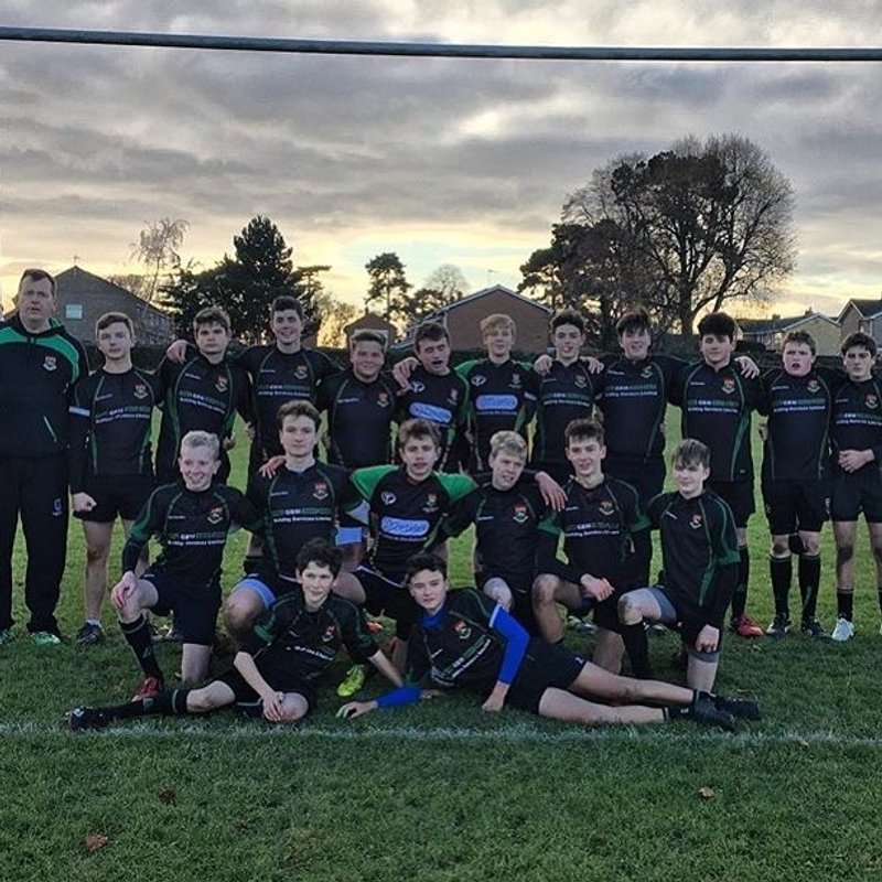 U15 lose to Shelford 26 - 21