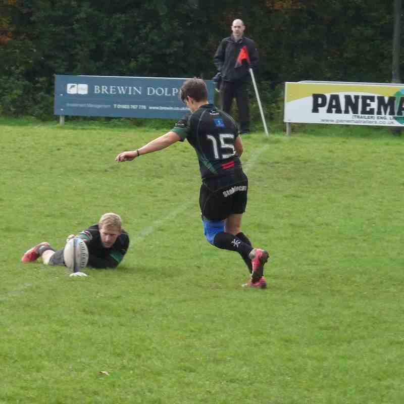 1st XV at Wymondham on 10-Oct-15