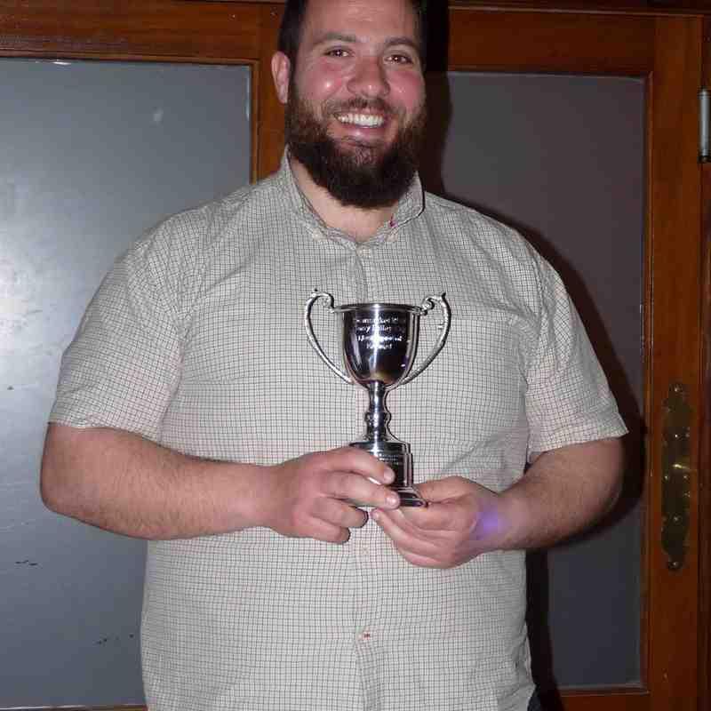 The Tony Bailey Cup - Most improved forward - Danieli Terenzi
