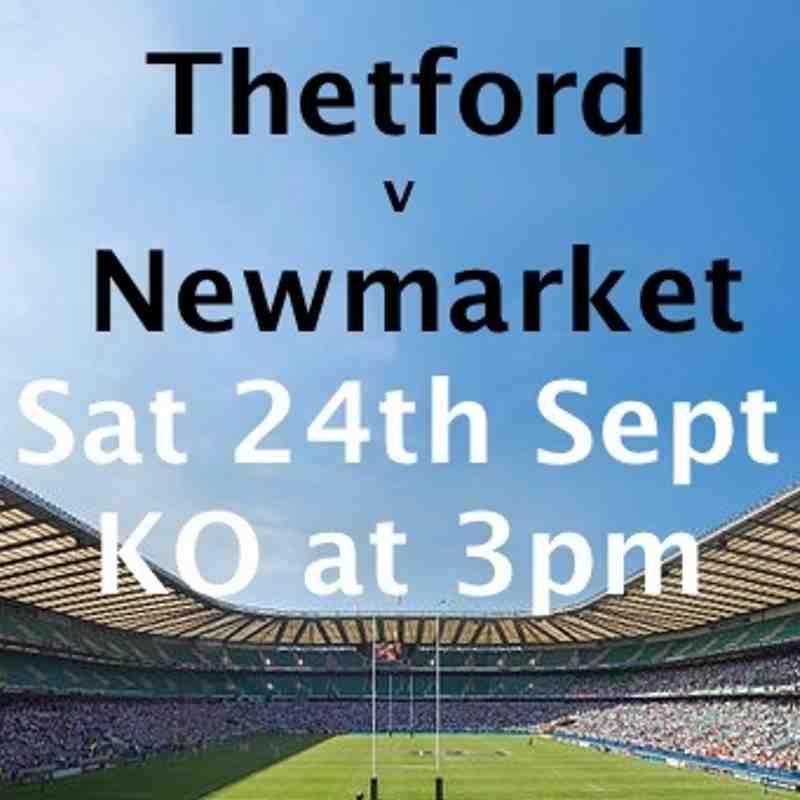 1st XV v Thetford - 24-Sep-16