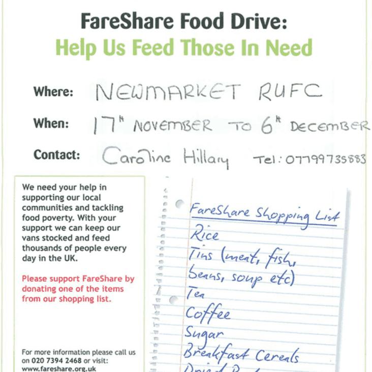 FareShare Food Drive