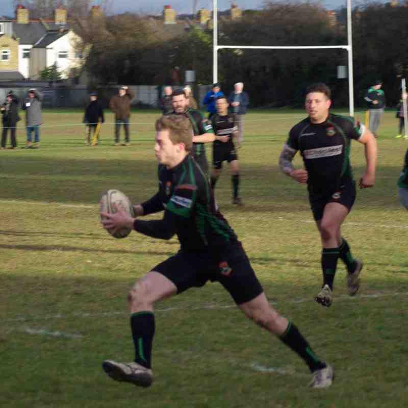 1st XV at home to Woodbridge 38-Jan-17