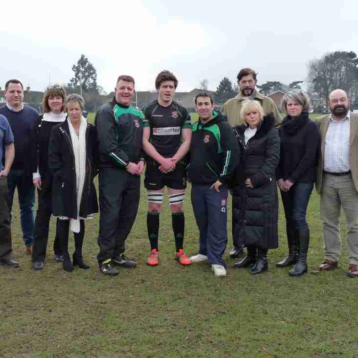 New and existing sponsors welcomed to lunch at Newmarket RUFC