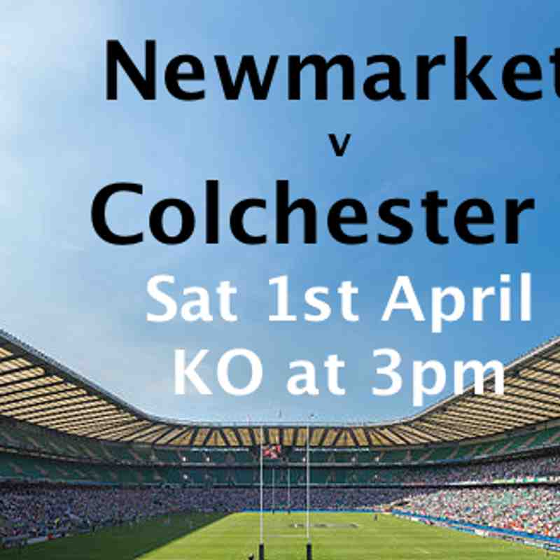 1st XV v Colchester 1-April-17