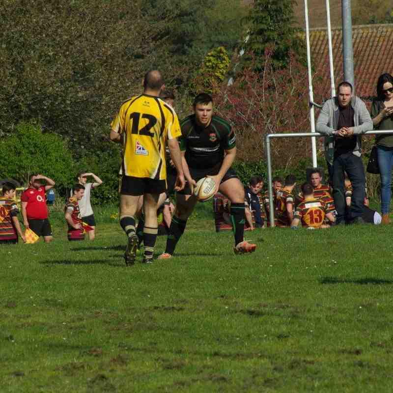 1st XV at Swaffham 08-Apr-17