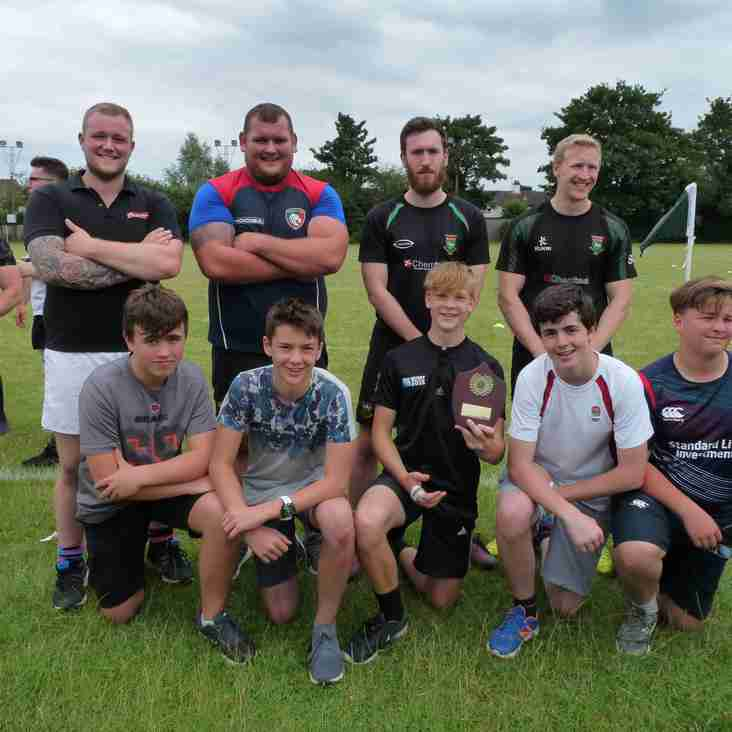 Report on the Rugby Festival on Saturday 1st July