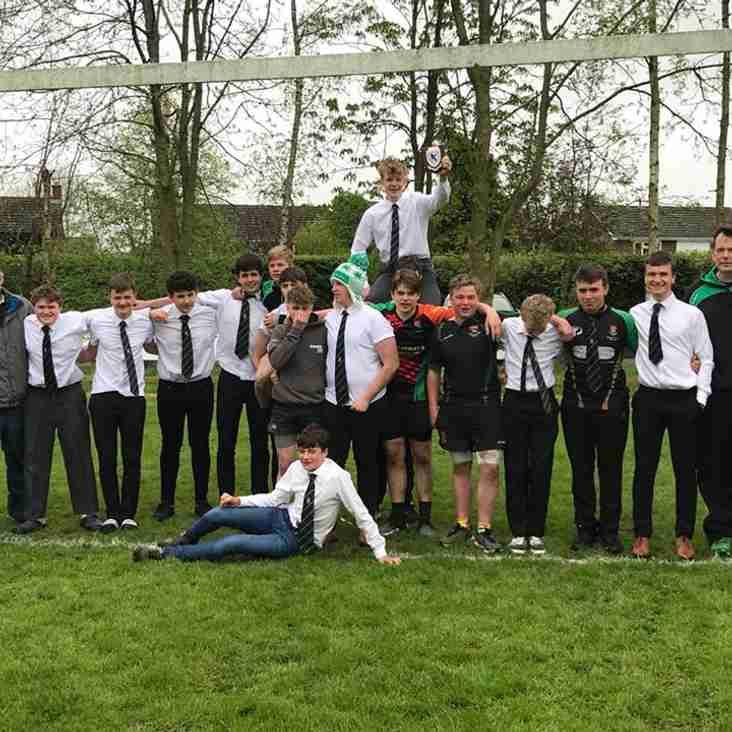 U15 win Eastern Counties Runner Up Shield