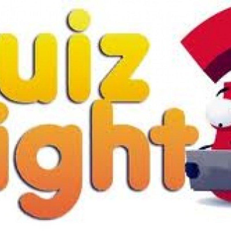 Quiz Night- Friday 12th October