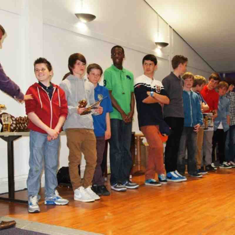 Pace Cougars U13 Presentation 2013