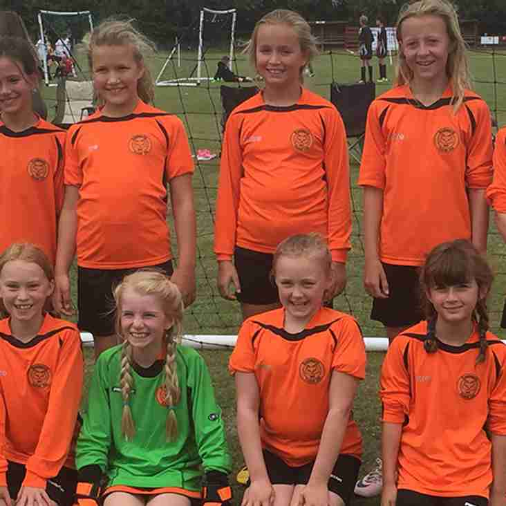 Girls Under 9's - FREE football training sessions