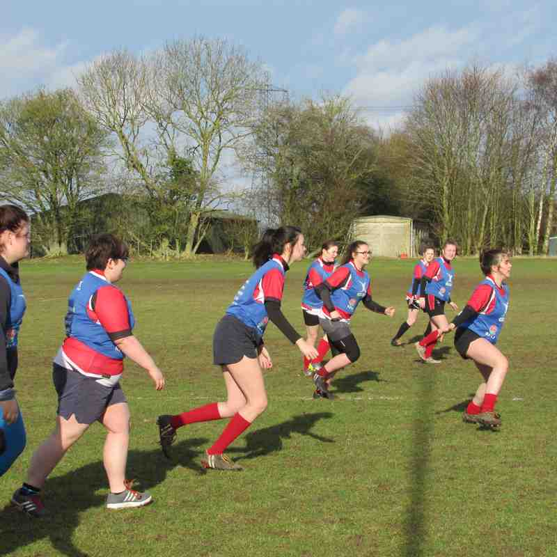 Lakenham Lionesses find their Inner Warriors....