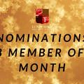 March - Nominate your CMOTM