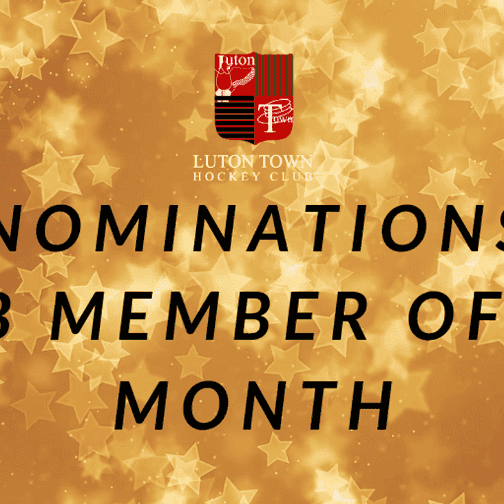 March - Nominate your CMOTM