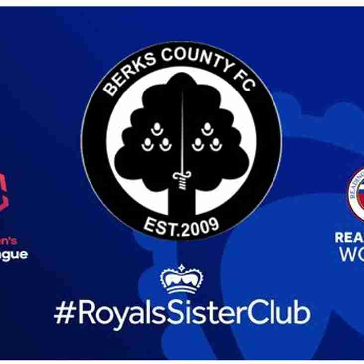 Watch Reading FC Women with Coach Travel from Ascot and Bracknell.